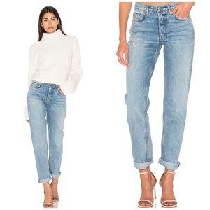 NWT GRLFRND Helena Straight Jeans Last Dance